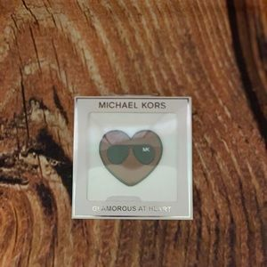 Michael Kors Glamorous Heart accessory NWT